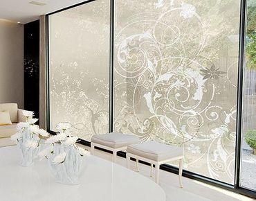 XXL Pellicola per vetri - Nacre Ornament Design