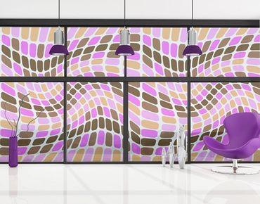 XXL Pellicola per vetri - Dancing Squares