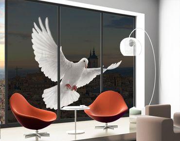 XXL Pellicola per vetri - Dove Of Peace