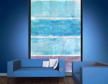 XXL Pellicola per vetri - Colour Harmony Blue