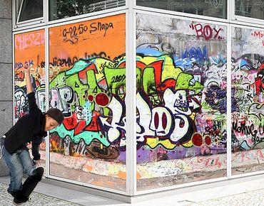 XXL Pellicola per vetri - Graffiti