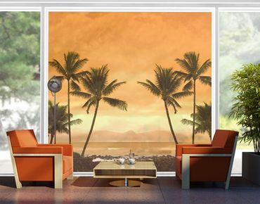 XXL Pellicola per vetri - Caribbean Sunset II
