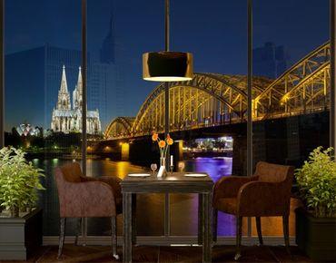 XXL Pellicola per vetri - Cologne At Night