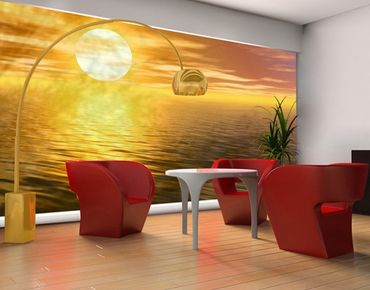 XXL Pellicola per vetri - Golden Sunrise