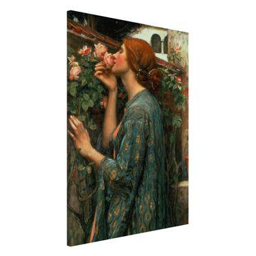 Lavagna magnetica - John William Waterhouse - L'anima della rosa - Formato verticale 2:3