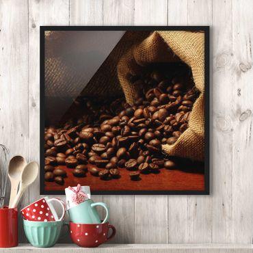 Poster con cornice - Dulcet Coffee - Quadrato 1:1