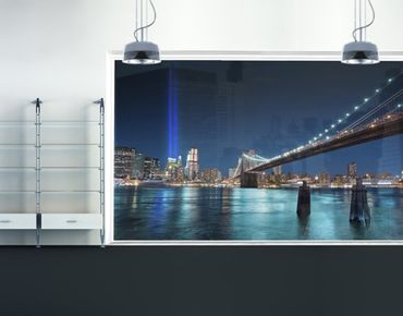 XXL Pellicola per vetri - Lights Of The World Trade Center