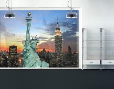 XXL Pellicola per vetri - New York At Night