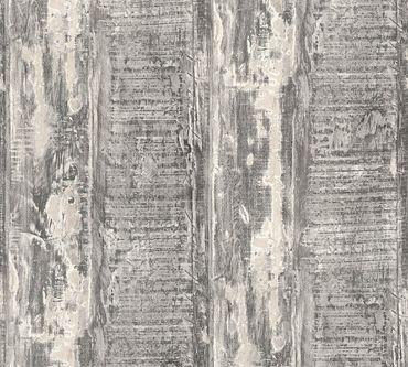 Carta da parati - A.S. Création Best of Wood`n Stone 2nd Edition in Beige Crema Grigio