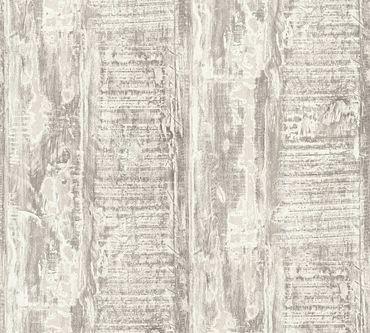 Carta da parati - A.S. Création Best of Wood`n Stone 2nd Edition in Crema Grigio