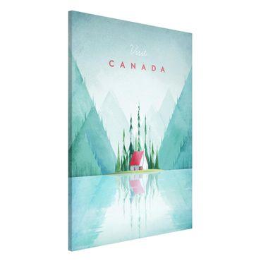 Lavagna magnetica - Poster di viaggio - Canada - Formato verticale 2:3