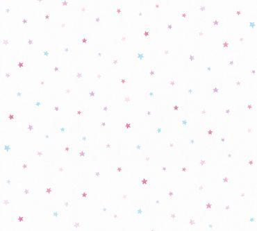 Carta da parati - Esprit Esprit Kids 5 in Blu Lilla Bianco