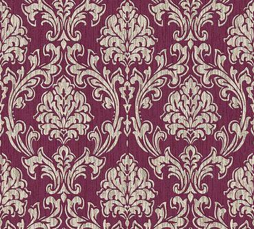 Carta da parati - Esprit Esprit 13 Eccentric Luxury in Crema Metalizzato Rosso