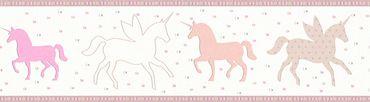Carta da parati - Esprit Esprit Kids 5 in Beige Crema Rosa