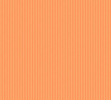 Carta da parati - Esprit Esprit 13 Nostalgic Folklore in Arancione