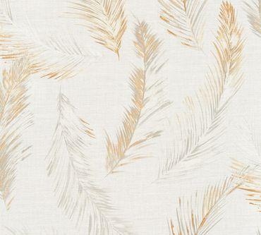Carta da parati - A.S. Création Four Seasons in Beige Arancione Grigio