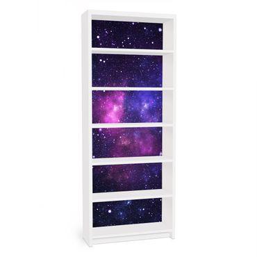 Carta adesiva per mobili IKEA - Billy Libreria - Galaxy