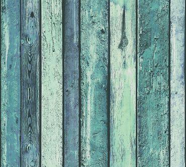 Carta da parati - A.S. Création Il Decoro in Blu Verde