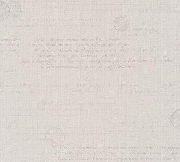 Carta da parati - Livingwalls Hygge in Beige Marrone Grigio