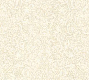 Carta da parati - A.S. Création Boho Love in Metalizzato Crema Beige