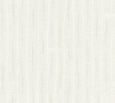 Carta da parati - A.S. Création Flavour in verniciabile Bianco