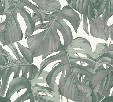 Carta da parati - Michalsky Living Dream Again in Verde Bianco Grigio