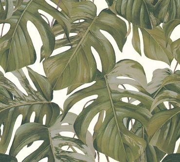 Carta da parati - Michalsky Living Dream Again in Grigio Verde Bianco