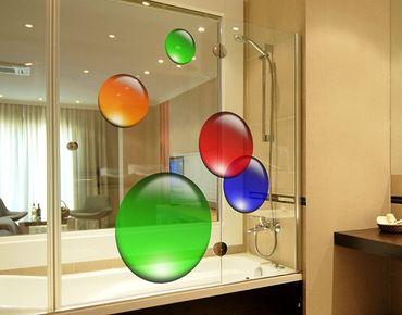 Adesivi da finestra no.516 Circles Magical Balls 5s Set