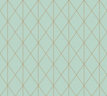 Carta da parati - A.S. Création Designdschungel 2 by Laura N. in Metalizzato Blu Verde