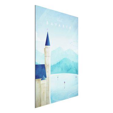 Stampa su alluminio - Poster TRAVEL - Baviera - Verticale 3:2