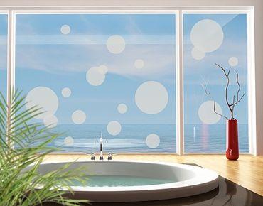 Adesivo per finestre - no.1184 Circles II 18s Set
