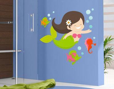 Adesivo murale no.EK150 Mermaid