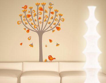 Adesivo murale no.EK145 Autumn Birds
