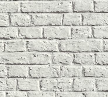 Carta da parati - Livingwalls Metropolitan Stories Anke & Daan - Amsterdam in Grigio Bianco