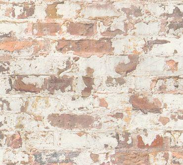 Carta da parati - Livingwalls Metropolitan Stories Paul Bergmann - Berlin in Grigio Arancione Bianco
