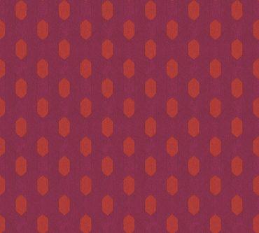 Carta da parati - Architects Paper Absolutely Chic in Rosso Arancione Lilla