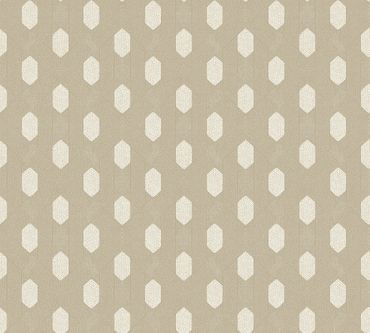 Carta da parati - Architects Paper Absolutely Chic in Metalizzato Grigio Beige