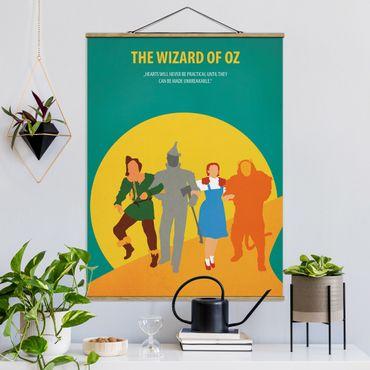 Foto su tessuto da parete con bastone - Poster del film Il Mago di Oz - Verticale 4:3