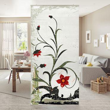 Tenda a pannello Pale Flower 250x120cm
