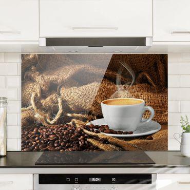 Paraschizzi in vetro - Morning Coffee