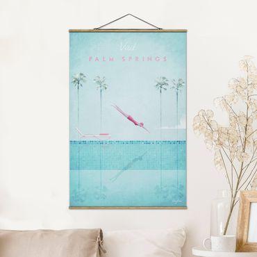 Foto su tessuto da parete con bastone - Poster Travel - Palm Springs - Verticale 3:2