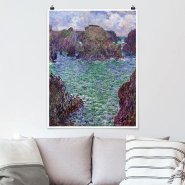 Poster - Claude Monet - Porto Goulphar - Verticale 4:3