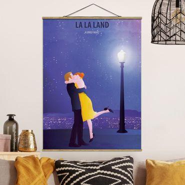 Foto su tessuto da parete con bastone - Locandina cinematografica La La Land II - Verticale 4:3