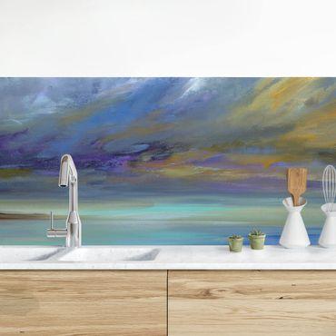 Rivestimento cucina - Il cielo sulla costa