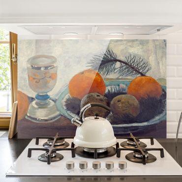 Paraschizzi in vetro - Paula Modersohn-Becker - Still Life With Frosted Glass Mug