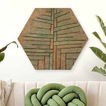 Esagono in legno - Paul Klee - Kiefer