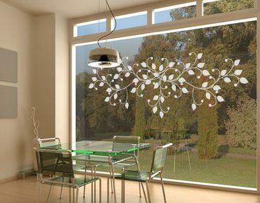 Adesivo per finestre - no.UL906 Limber Tendril
