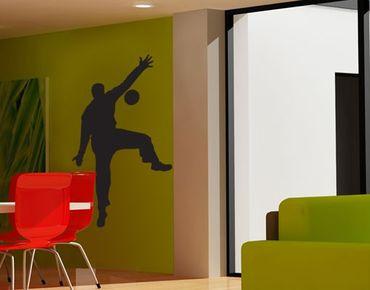 Adesivo murale no.UL909 Handball Goal Keeper