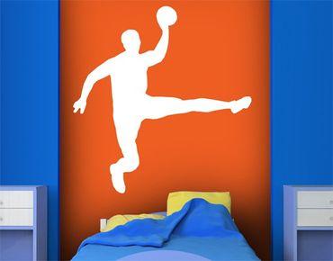 Adesivo murale no.UL911 Handball Jump Shot