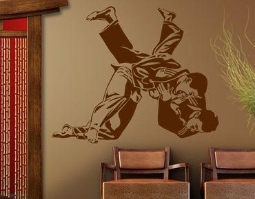 Adesivo murale no.1208 Judo